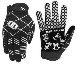 Seibertron M.S.Z.Q-2 Twelve Constellations Elite Ultra-Stick Sports Receiver Glove  American Football Gloves Youth