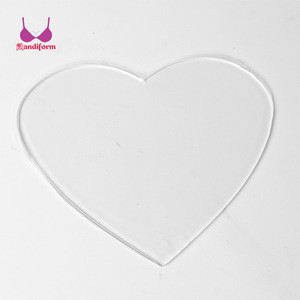 Sexy Silicon Breast Mouse Pad For Wrinkles Seamless Adhesive Silicone Anti-Wrinkle Nursing Decollete Pads