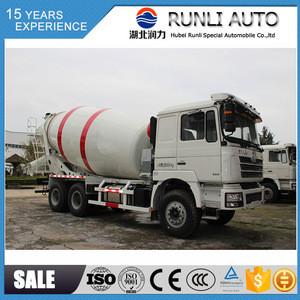 SHACMAN 6*4 Cement mixer truck 9m3 concrete mixer truck