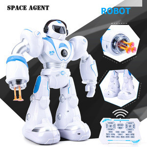Shooting Robot Toys Rc Police Man Smart Dancing Robot with launching bullets