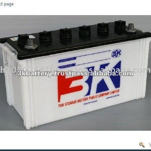 Thailand High Quality 12V 3K N100 (100 AH) Dry charged Automotive Battery