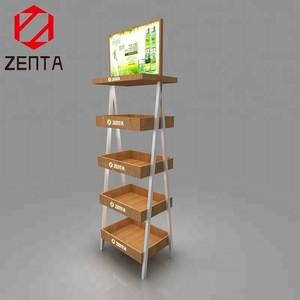 ZENTA Supermarket Showy Beaut Meat Snacks Display Rack