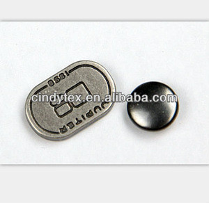 Import zinc alloy decorate rivet from China