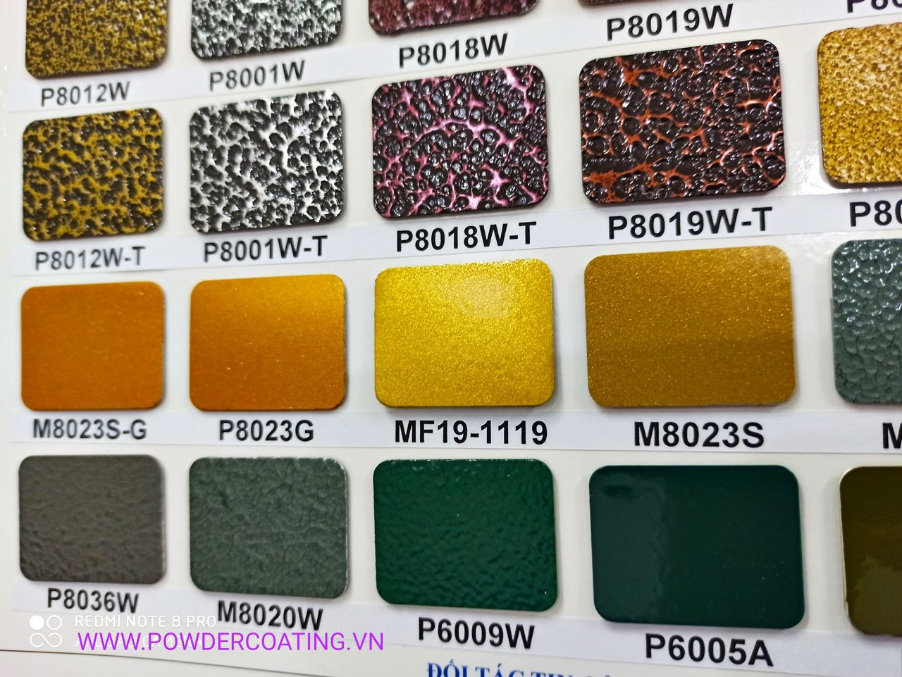 EP Powder Coatings