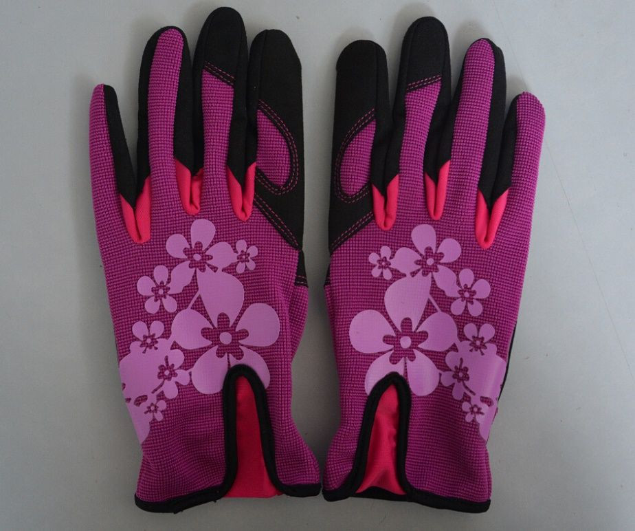 Customized Leather  Garden Gloves For Planting For Retail