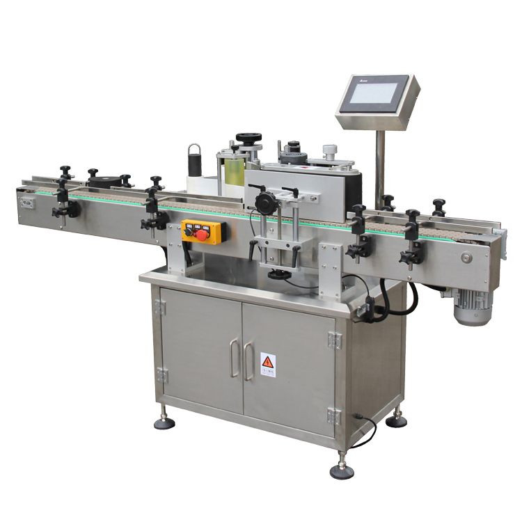 Automatic Sticker Labeling Machine for Vertical Round Bottles