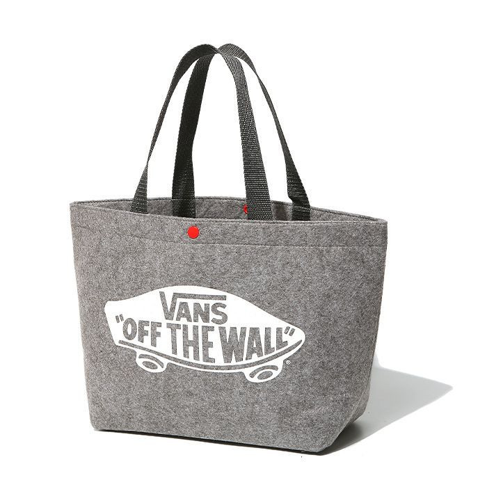 Eco-Friendly Grey Reusable Felt Grocery Shopping Handbag Tote Bag For Women