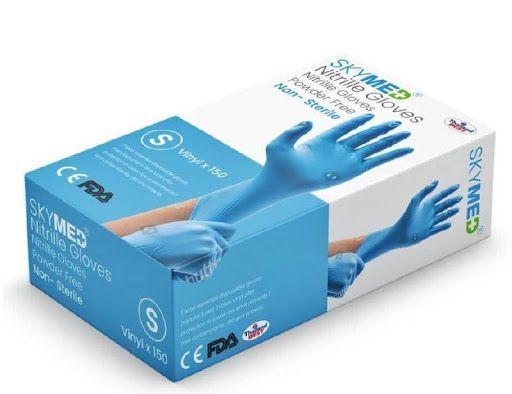 Skymed Non-sterile Nitrile Examination Gloves