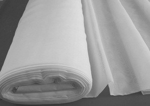 100% polyester grey voile cloth