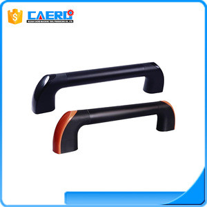 Aluminum square style nylon plastic handle