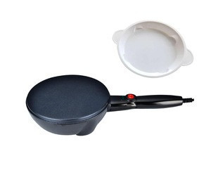 cool touch housing crepe maker with parts
