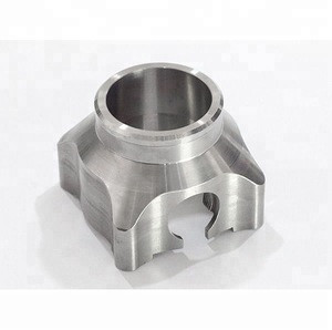 Custom stainless steel pump shaft protecting sleeve by CNC machining process