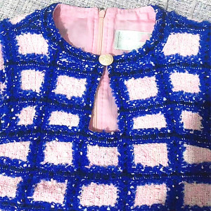 Designed fabric jacquard 2020 tessnti woolen Jacquard tweed fabric