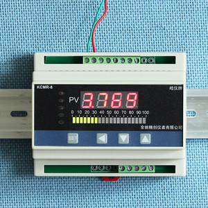 Digital load indicator /Fuel Liquid water Digital Level Measuring Controller Digital Indicator din rail beam display water level