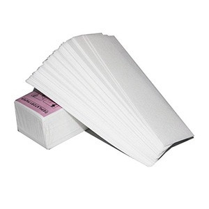 Disposable Hair Removal Paper 100pcs Pack Non-Woven Epilating Cloths for Legs Arms Body Face Brows No Hair Removal Wax (Box-pack