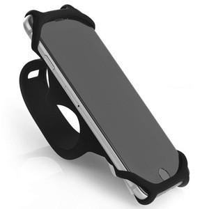 Elastic Silicone Bicycle Phone Holder Universal Mobile Phone Bracket  For Smartphone Mountain Bike Motorcycle Bicycle Handlebar