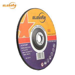 ELE STAR EN12413 European Standard 7inch Abrasive Grinding Wheel for all metal grinding application for angle grinders