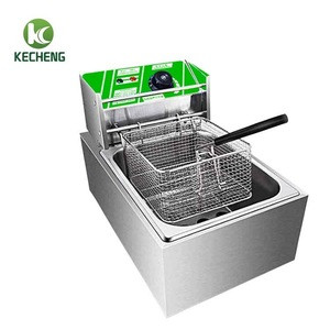 Electric ventless fryer/fryer thermostat/mobile deep fryer cart