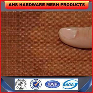 EMF Shielding Copper Plain Woven Wire Mesh