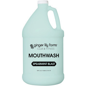 Freshen up your breath with the classic flavor Mouthwash Spearmint Blast Gallon