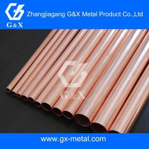Gas water heater copper tube