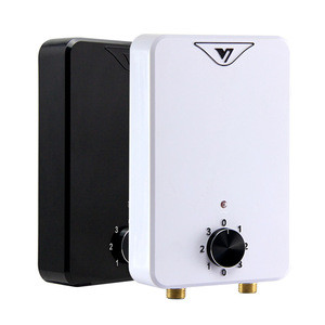 Hannover New hot-sale Energy-saving color customize tankless 5300W electric water heater for tap shower