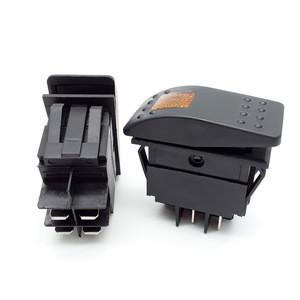 High quality waterproof atv led light auto ip68 marine custom 24volt rocker switch labels