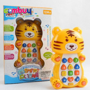 Hot sale high quality mobile phone electronic early baby learning toys