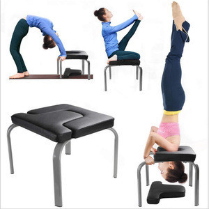 Indoor Fitness Gym Exercise Equipment Yoga Chair Body Lift Headstand Bench for body building