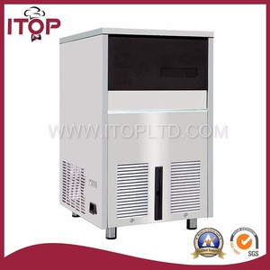 IS-105/IS-150 Ice maker (flake nugget ice)Commercial Automatic Water Cooling Cube ice making machine with CE approved