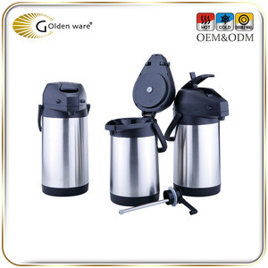 KAP30F 3.0L High-Ranking stainless steel double wall air pressure vacuum pots