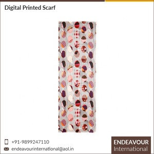 Low Price Digital Printed High Quality 100% Modal Women Scarf