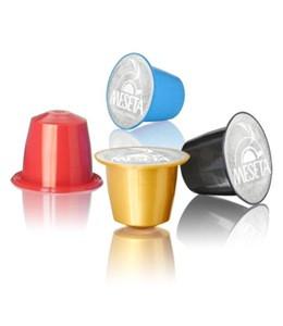 Nespresso compatible coffee capsule