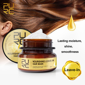 Nourishing leave-in hair mask Completely remove odor after hair treatment from hair dying perming