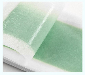 OEM China supplier free sample depilatory cold wax strips