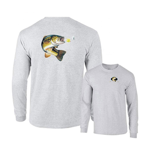 Performance Custom 100% cotton Quick Dry Long Sleeve men Fishing Shirts