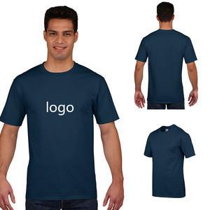 Printing 95% cotton 5% elastane organic cotton no minimum printed design custom  t-shirt