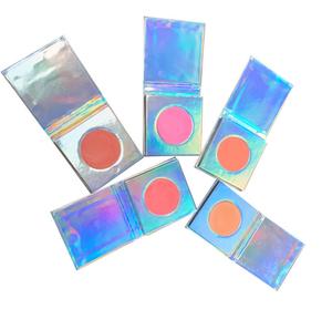 Private Label individual blusher,single blush,5 colors makeup blush