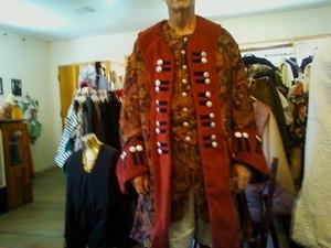 Renaissance captains coat custom made