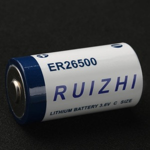 RUIZHI Li-SOCI2 Battery Bobbin Type C ER265003.6V for LoRa WAN Digital Sensor