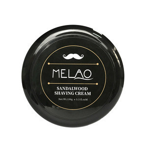 Sandalwood Organic Natural Shaving Cream Private Label Bulk For Men