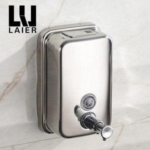 Stainless Steel Wall mounted Liquid Hand Soap Dispenser Hot Automatic Soap Dispenser For Sale