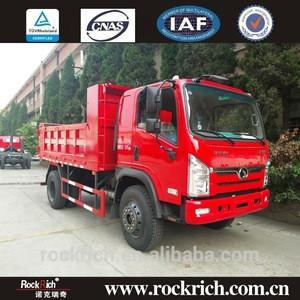 Supply low fuel consumption 6 wheel dump truck capacity 10 ton dump truck