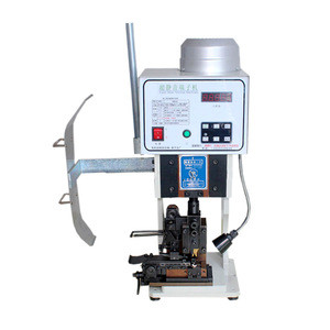 Terminal Crimper 1.5T with horizontal mold Low noise High-speed Fully automatic cable wire terminal crimping machine