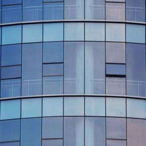 Versatile recyclable double glass curtain wall and shopping mall curtain wall and building curtain wall cladding
