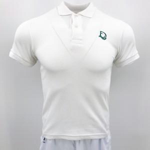 Wholesale Promotion Custom White Knit 95% Cotton And 5% Spandex Uniform Men Pique Polo Shirt