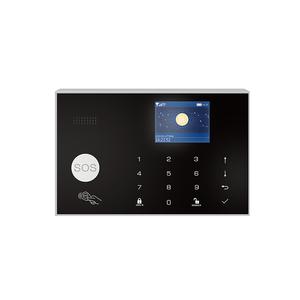 Wireless Wifi Alarm for Home GSM IOS Android Control App  LCD SMS Burglar Alarm System for Home sistema de alarma gsm