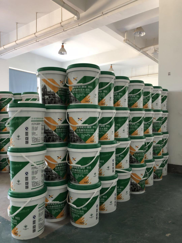Acrylic Water-based Waterproof Paint Rooftop Coating