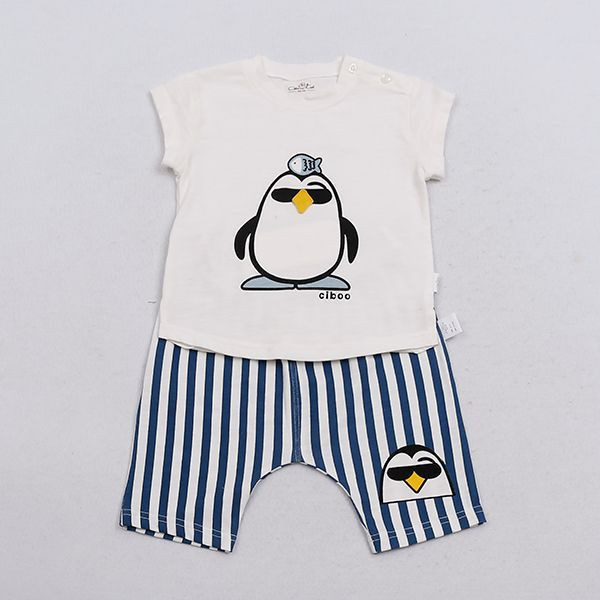 Baby Clothes Short Sleeve Cloth Set