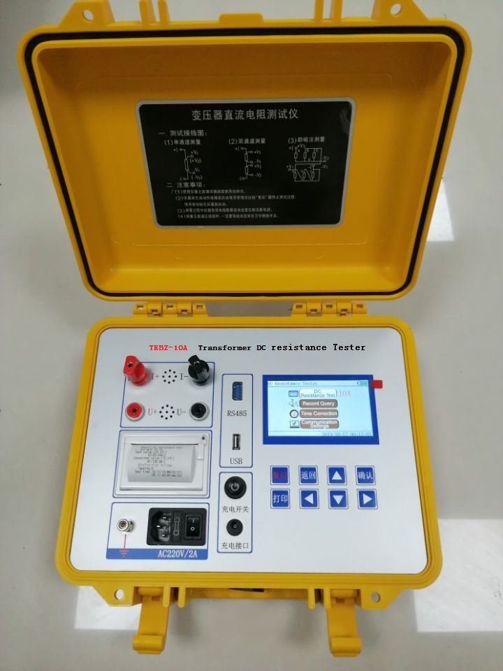 TEBZ-10 Transformer DC resistance tester